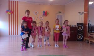 Открытые тренировки в детских садах